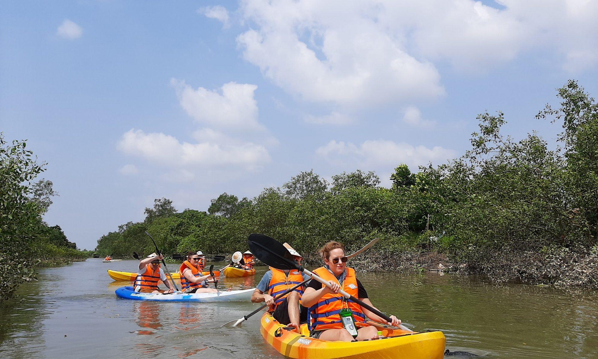 Mekong Kayaking